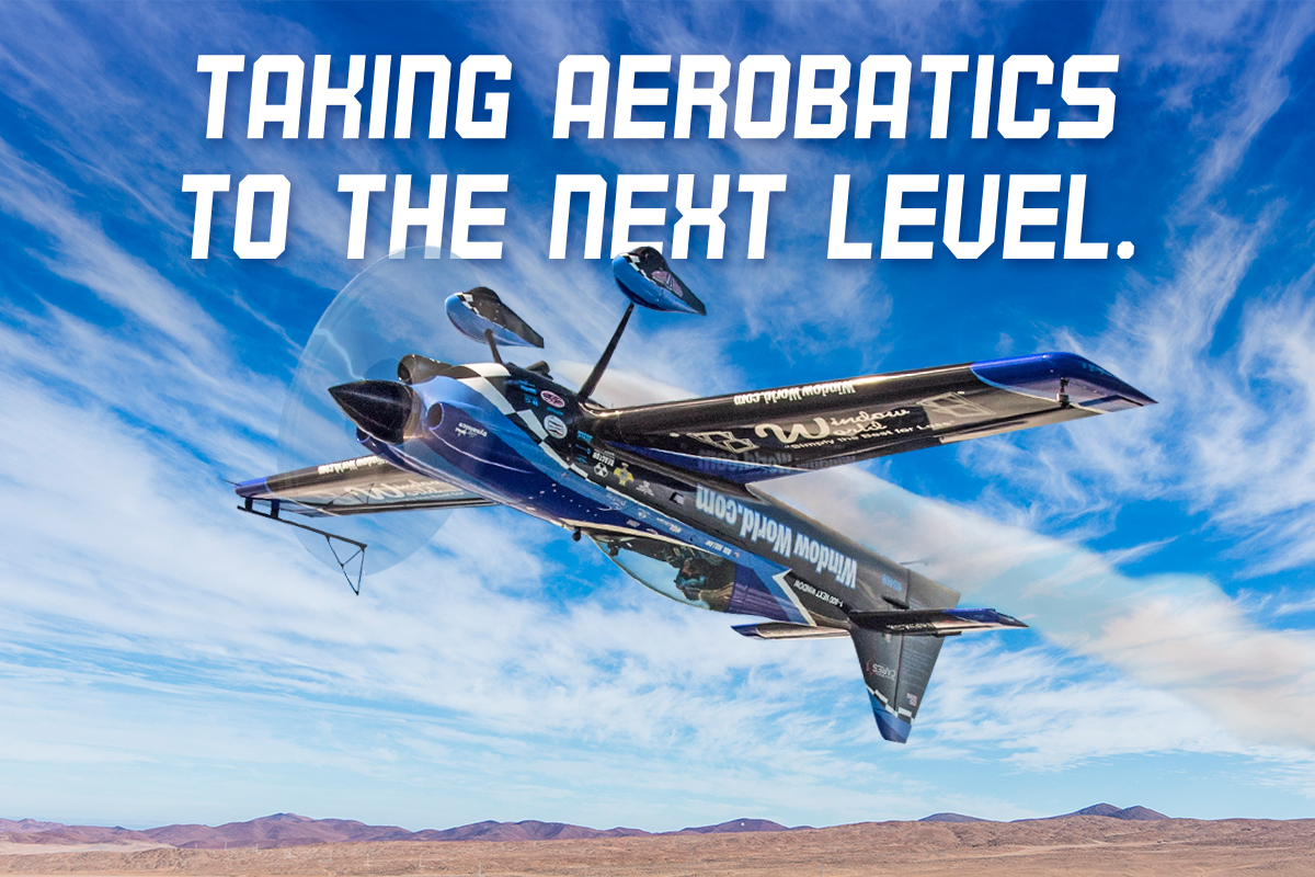 World-Renowned Aerobatic Pilot Rob Holland to Perform at 2019 STIHL National Championship Air Races