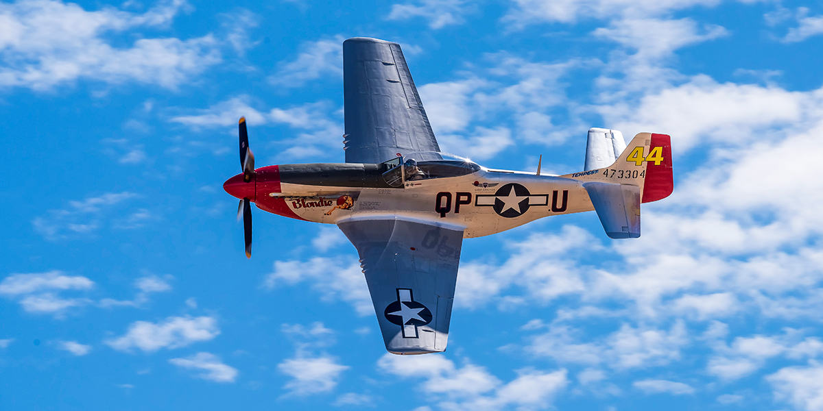 P-51 Mustang Sparky-Blondie