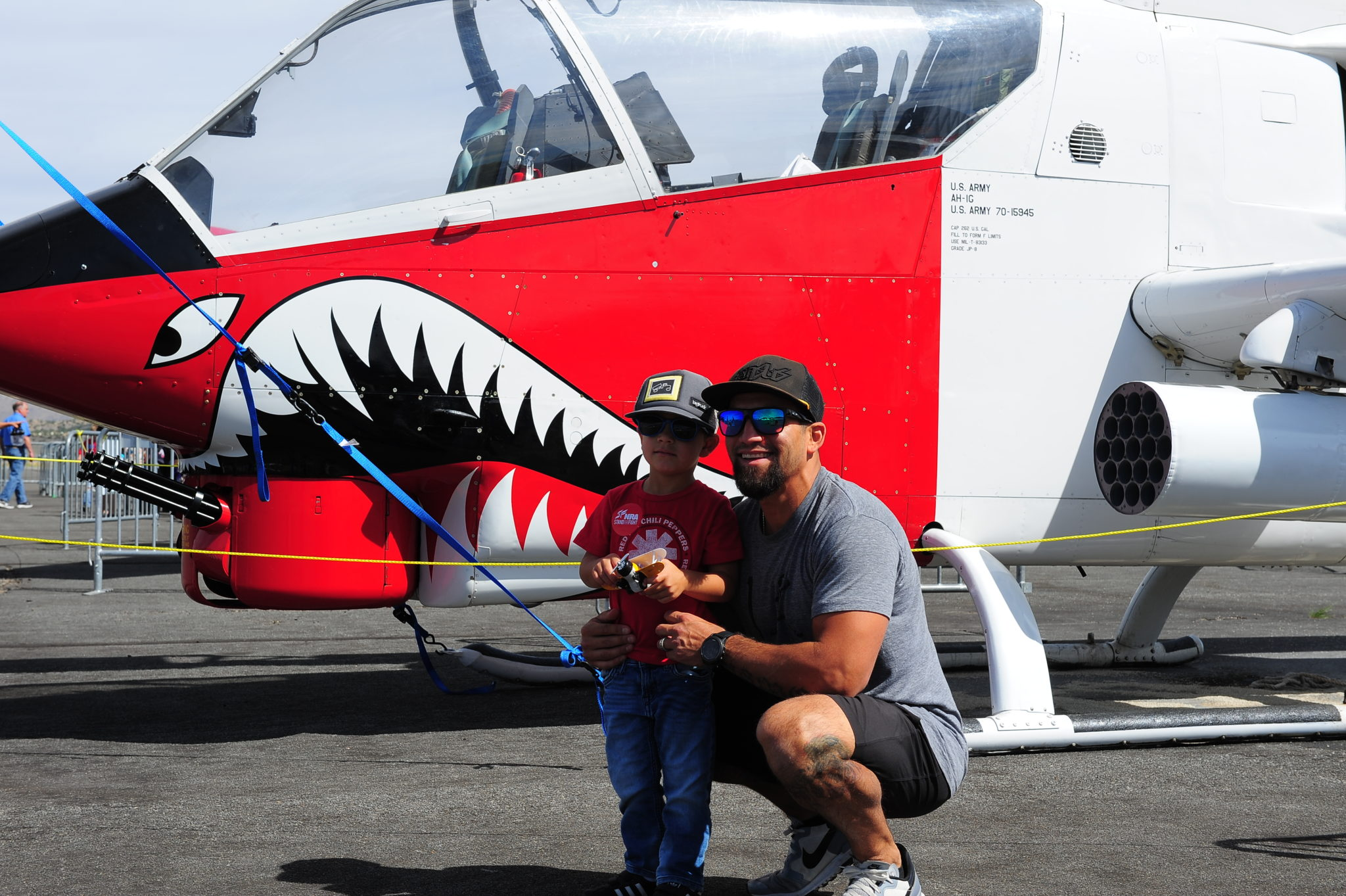 kids at air races