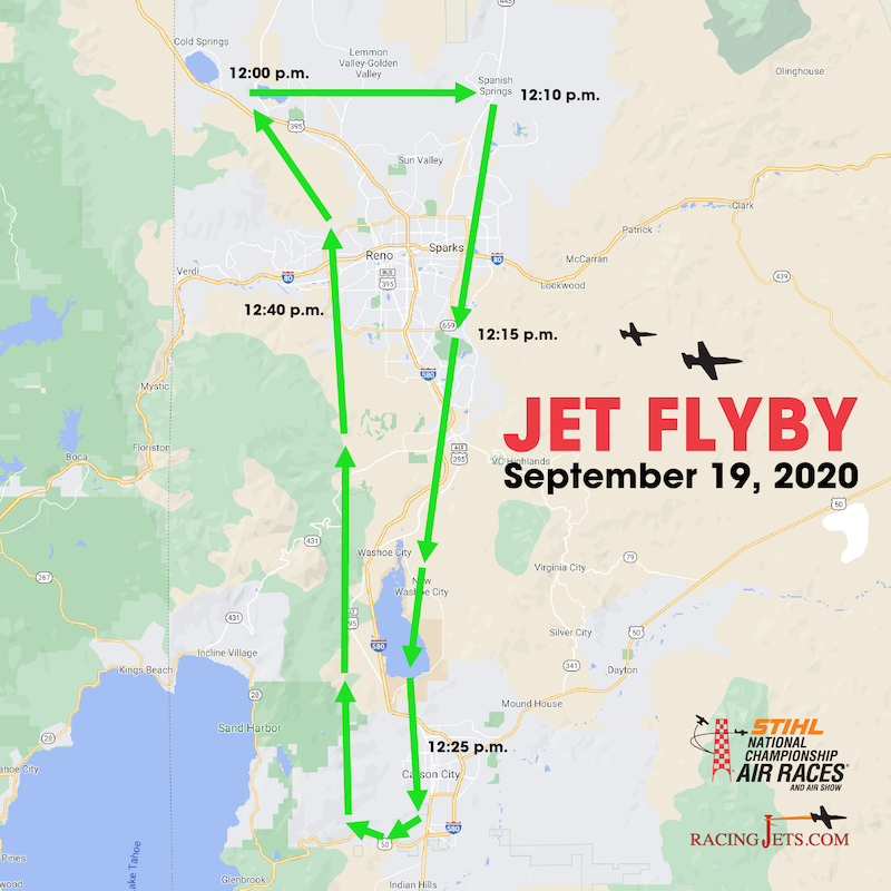 Jet Flyby Planned for Sept. 19