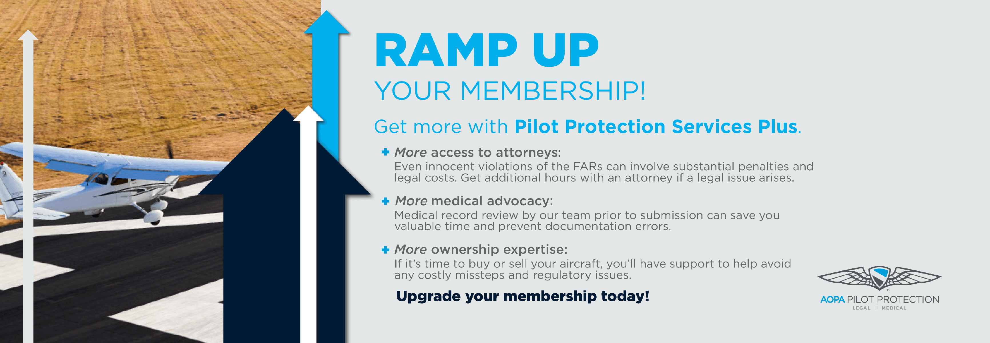Ramp Up Your Membership - Pilot Protection Services