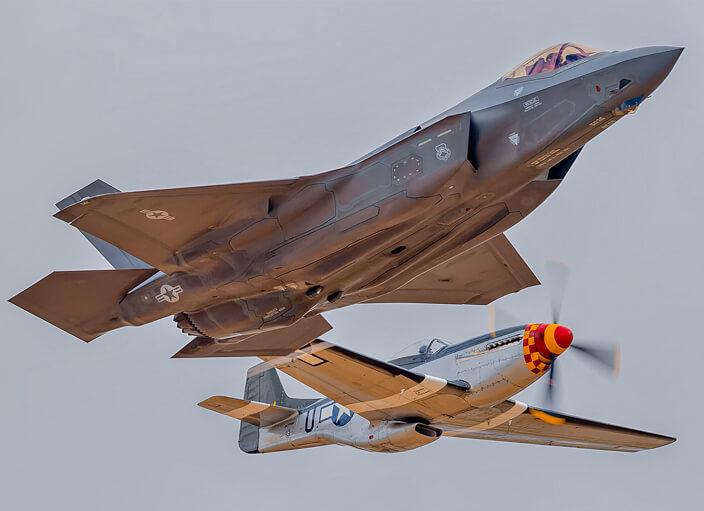 F35 Heritage Flight